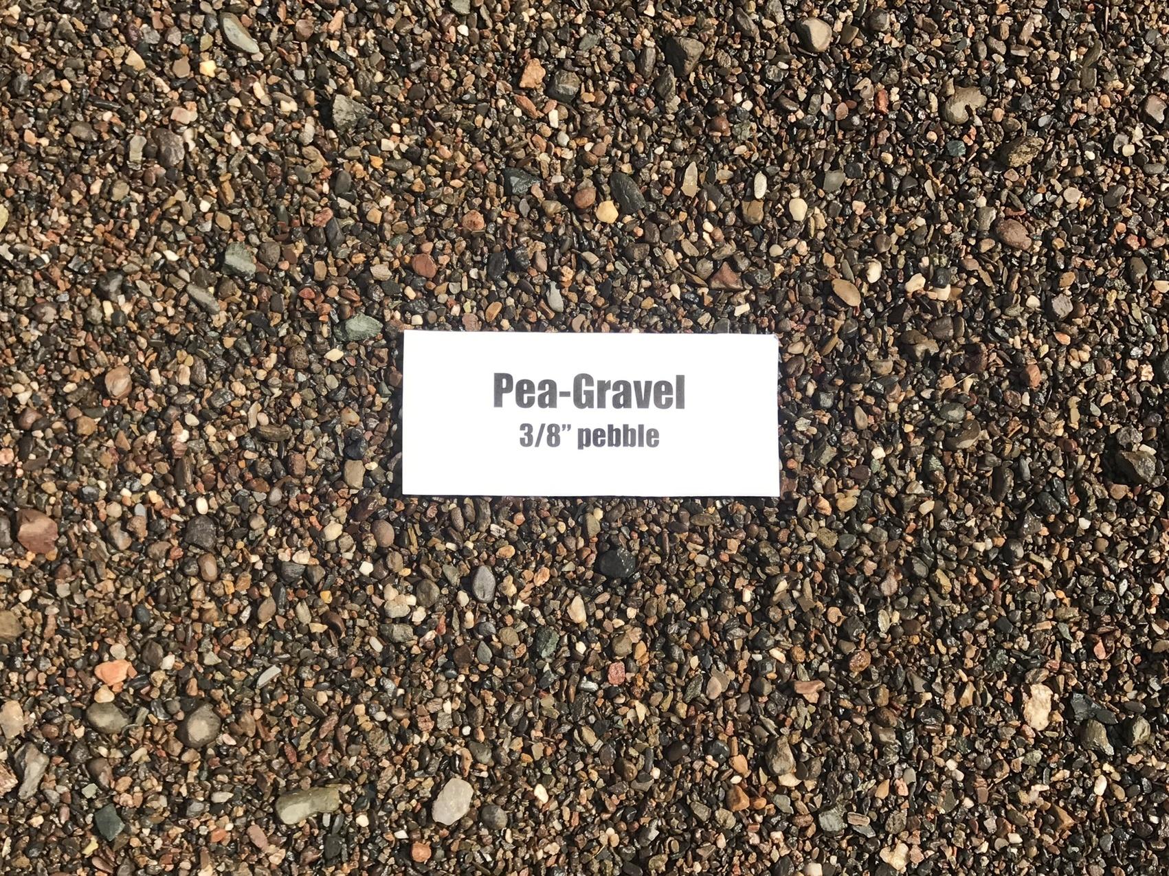 Pea Gravel For Garden Drainage Garden Designs